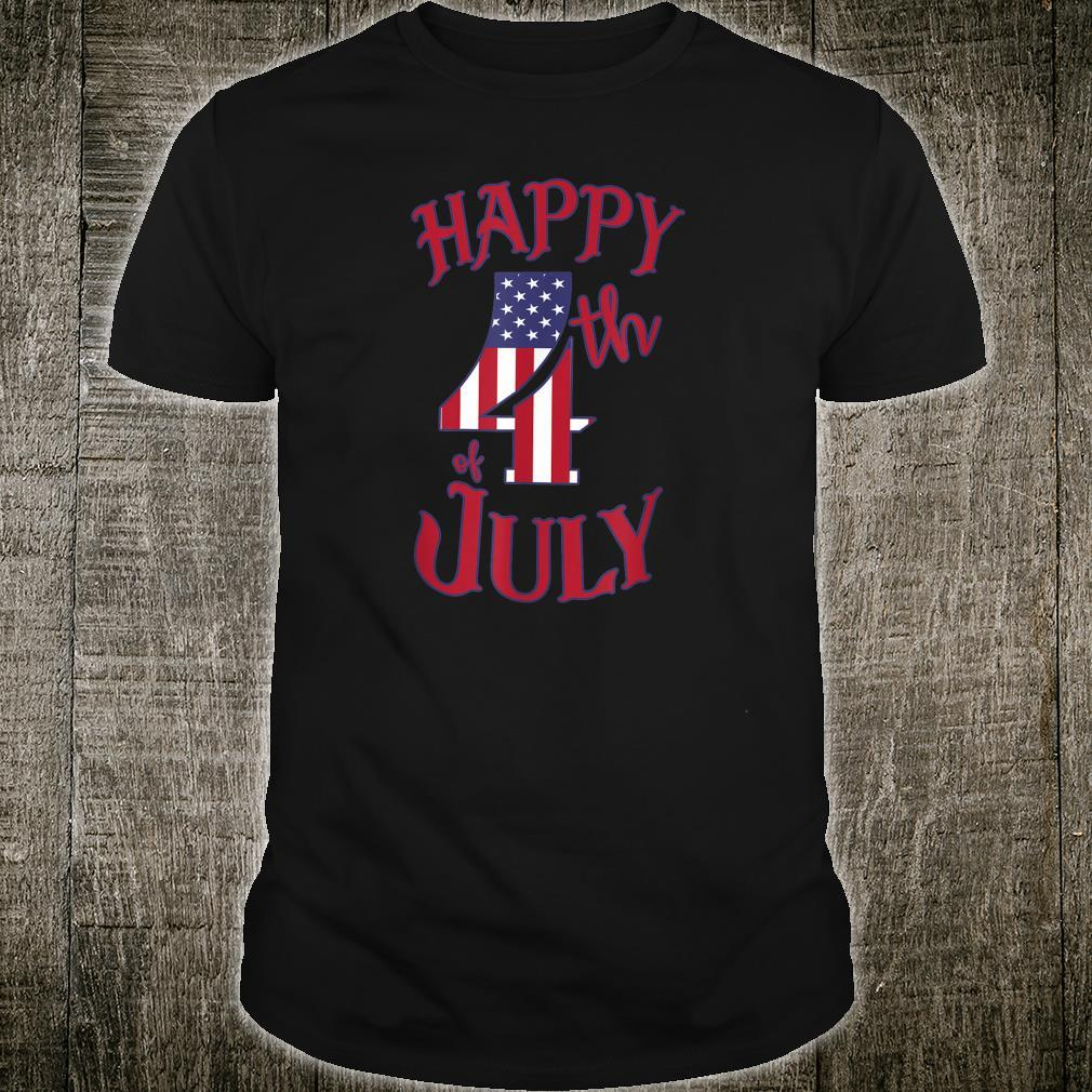 Happy 4th of July Independence Day Shirt