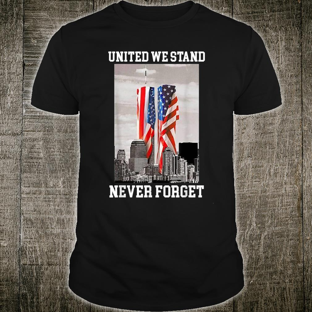 Never Forget 911 20th Anniversary Patriot Day 2021 American Shirt